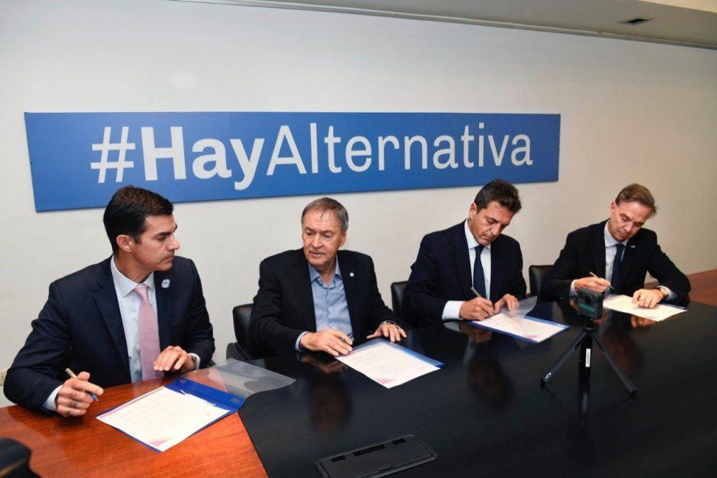 Alternativa Federal: Convocaron a Scioli, Tinelli y al progresismo