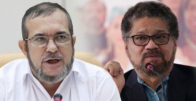 El líder del partido FARC rompe con el exnegociador que rechazó la entrega de armas