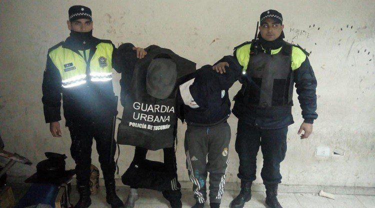 Dos hombres fueron detenidos en una persecución policial