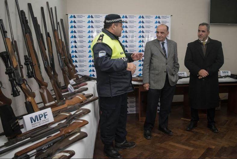 """""""Vamos a seguir combatiendo el delito y dando paz a la comunidad"""""""