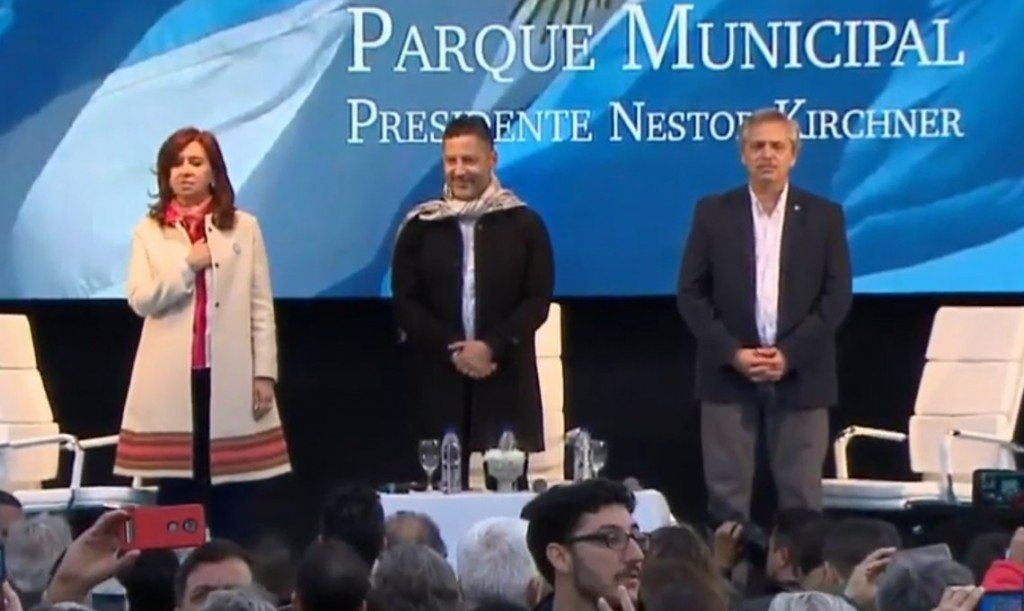 Cristina Kirchner y Alberto Fernández presentaron su fórmula presidencial