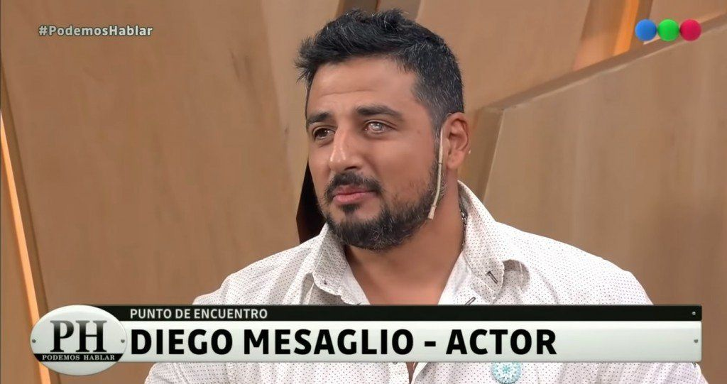 El día que Diego Mesaglio se sintió al borde de la muerte
