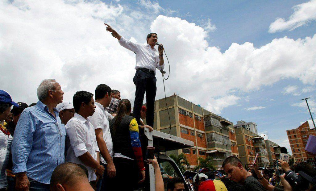 Guaidó pidió apoyo para los contactos con el chavismo en Noruega