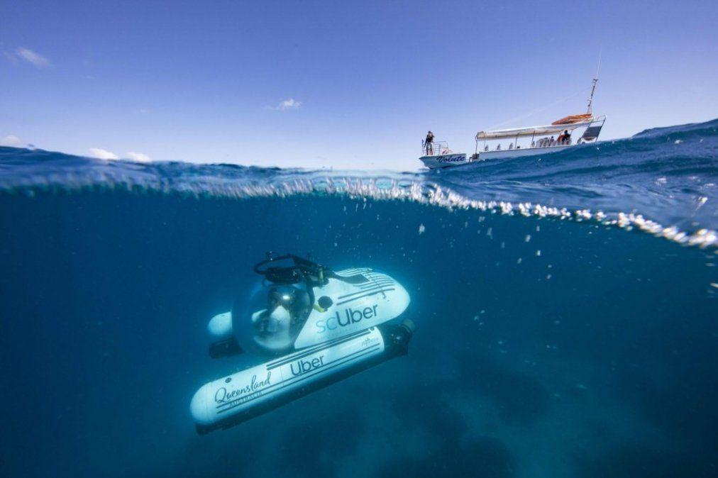 Uber lanza ScUber: ofrecerá viajes submarinos