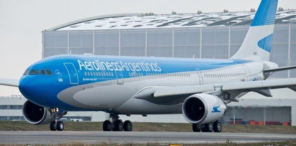 Aerolíneas Argentinas canceló sus vuelos por el paro