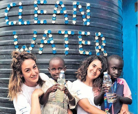 Dos ingenieras israelíes suministran agua potable a Uganda