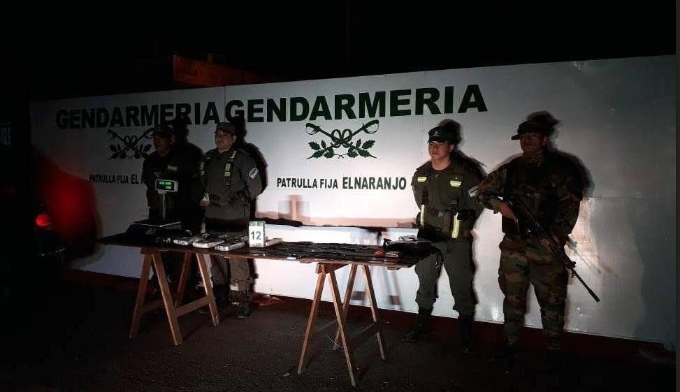 Fueron detenidos con más de siete kilos de cocaína en Salta