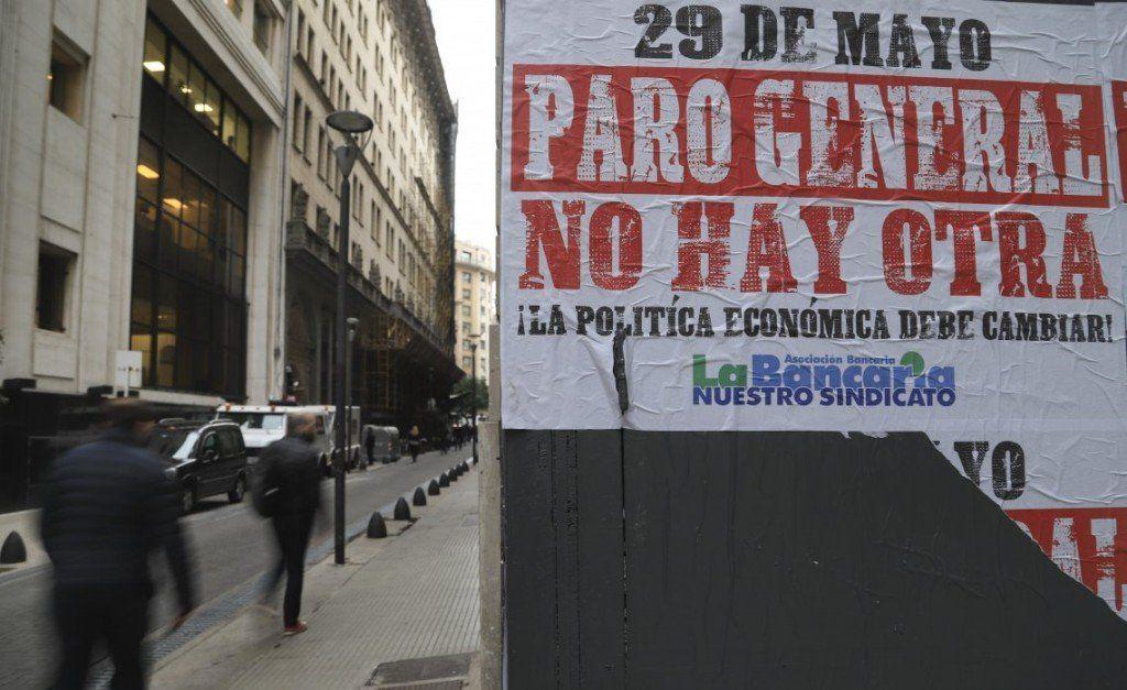 Se realiza el quinto paro nacional contra el gobierno de Macri