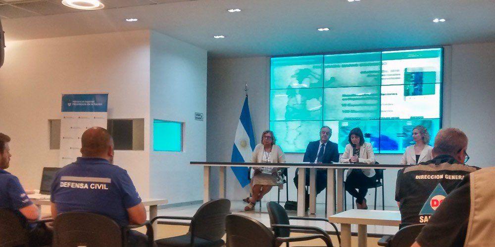 Defensa Civil integró a Catamarca al Sistema Nacional Crisis