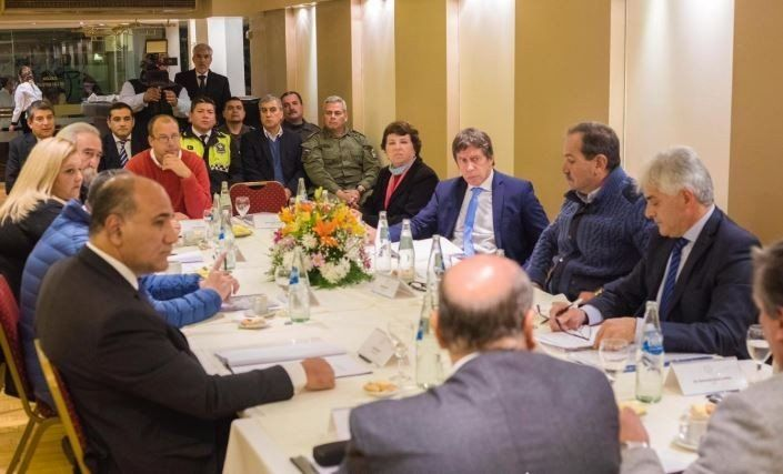 La Junta Electoral se reunió con los candidatos a gobernador