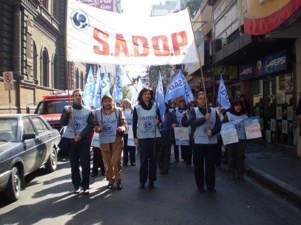 Sadop calificó de contudente la adhesión al paro