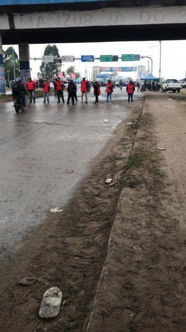 Cortes y protestas en distintos puntos de la provincia