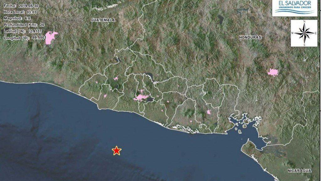 Un terremoto de magnitud 6,6 sacudió las costas de El Salvador y genera alerta de tsunami