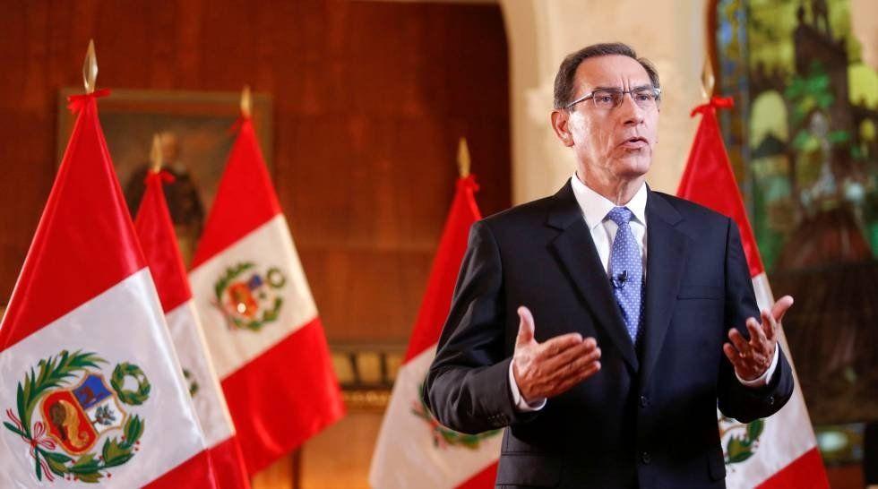 El presidente peruano presiona al Congreso para que apruebe sus medidas anticorrupción