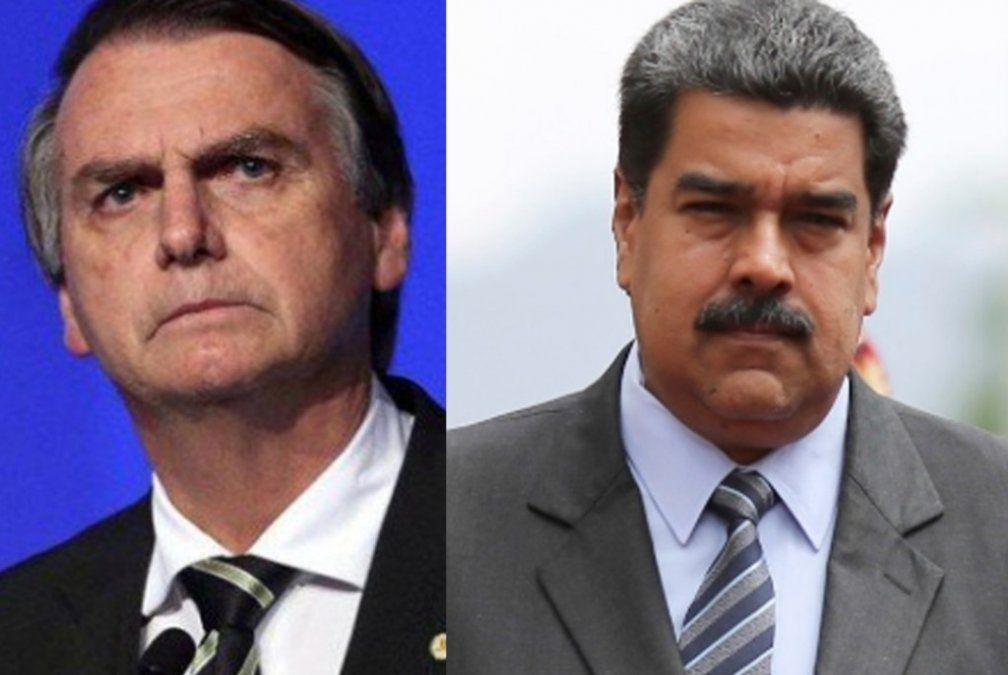 Bolsonaro: tiene que haber una fisura en la cúpula del Ejército para la salida de Maduro