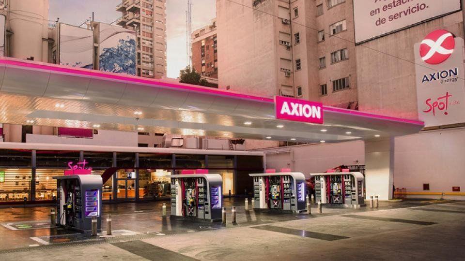 Axión también decidió subir el precio de sus combustibles