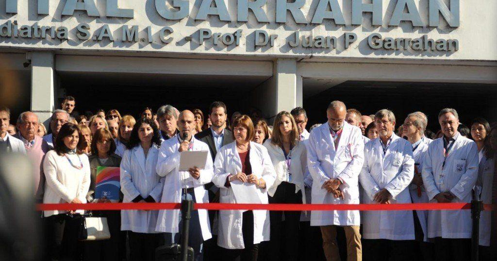 Médicos del Hospital Garrahan oficializaron su repudio al pediatra