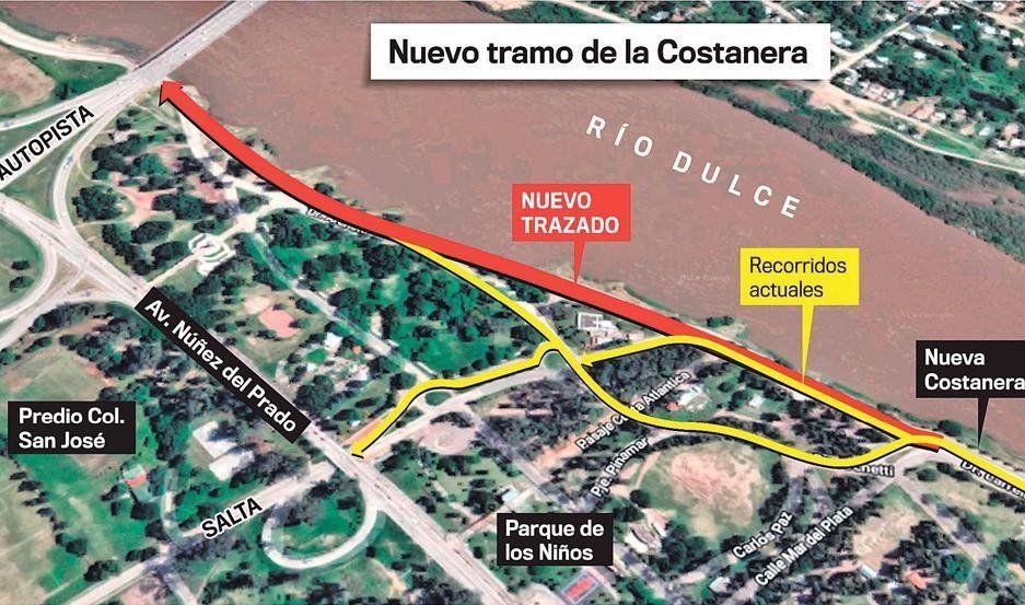 Santiago del Estero: Comenzó la obra que cambiará al parque Aguirre