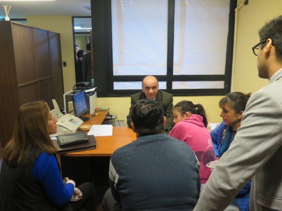 El Ministro Público Fiscal recibió a víctimas del delito en Concepción