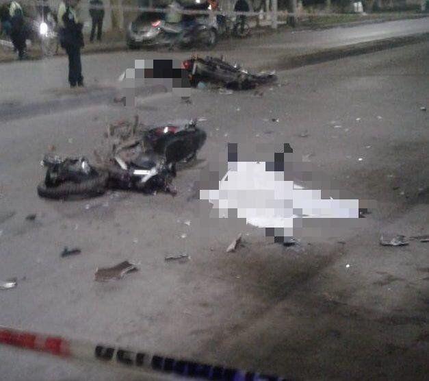 Un accidente en la zona sur de la capital se llevó dos vidas