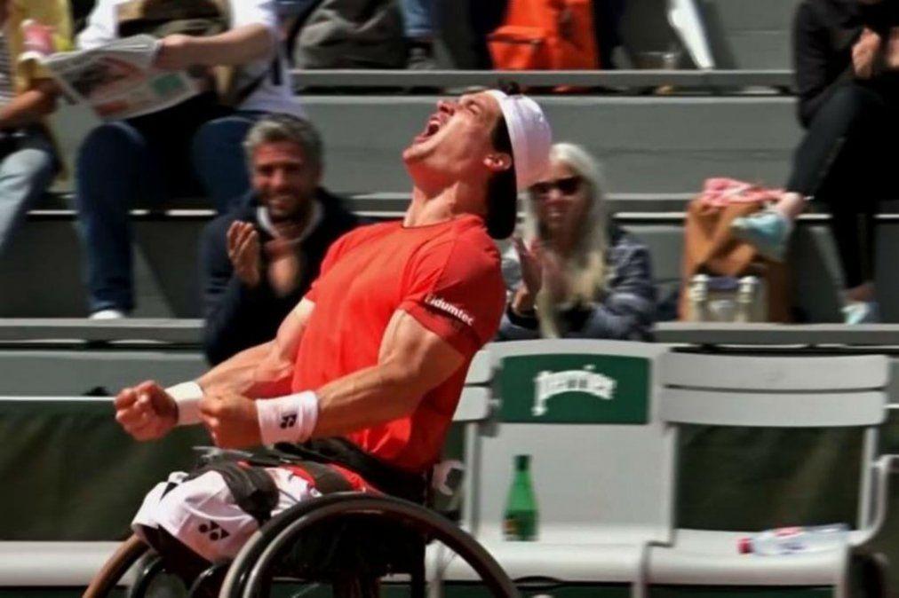 Gustavo Fernández gritó campeón en Roland Garros y vuelve al número 1