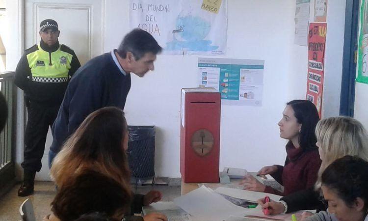 Bernardo Racedo Aragón no pudo emitir su voto