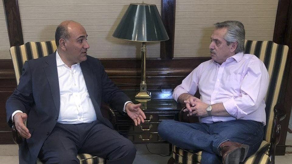 Alberto Fernández felicitó a Juan Manzur: Ganó la esperanza