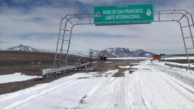 El Paso de San Francisco está nuevamente habilitado