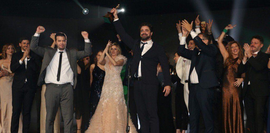 Los Martín Fierro: Además de quedarse con el Oro, Telefé fue el más premiado con 17 estatuillas