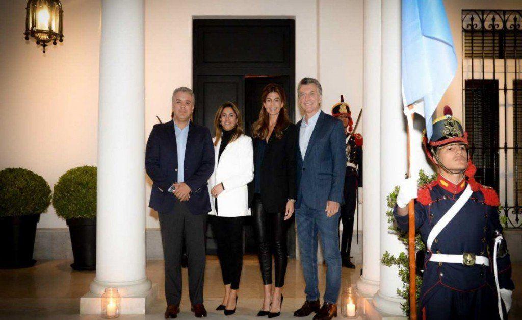 Macri recibió en Olivos al presidente de Colombia Iván Duque