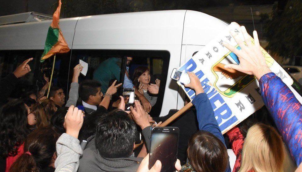 Cristina Fernández dejó en claro que su visita a Santiago del Estero es de carácter literario