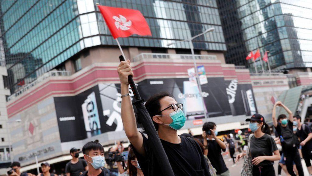 Entre protestas, Hong Kong aplaza la segunda sesión legislativa sobre la ley de extradición