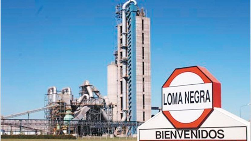 Loma Negra cerrará una de sus plantas en Buenos Aires