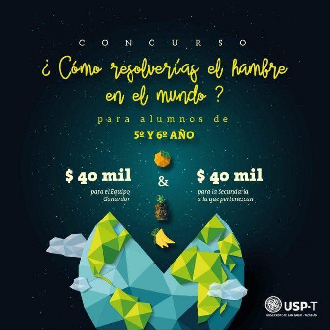 La Universidad de San Pablo-T propone elaborar proyectos para solucionar el hambre en el mundo