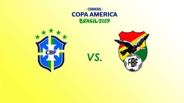 Brasil y Bolivia abren la Copa América