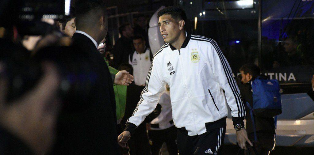 Andrada fuera de la Copa América