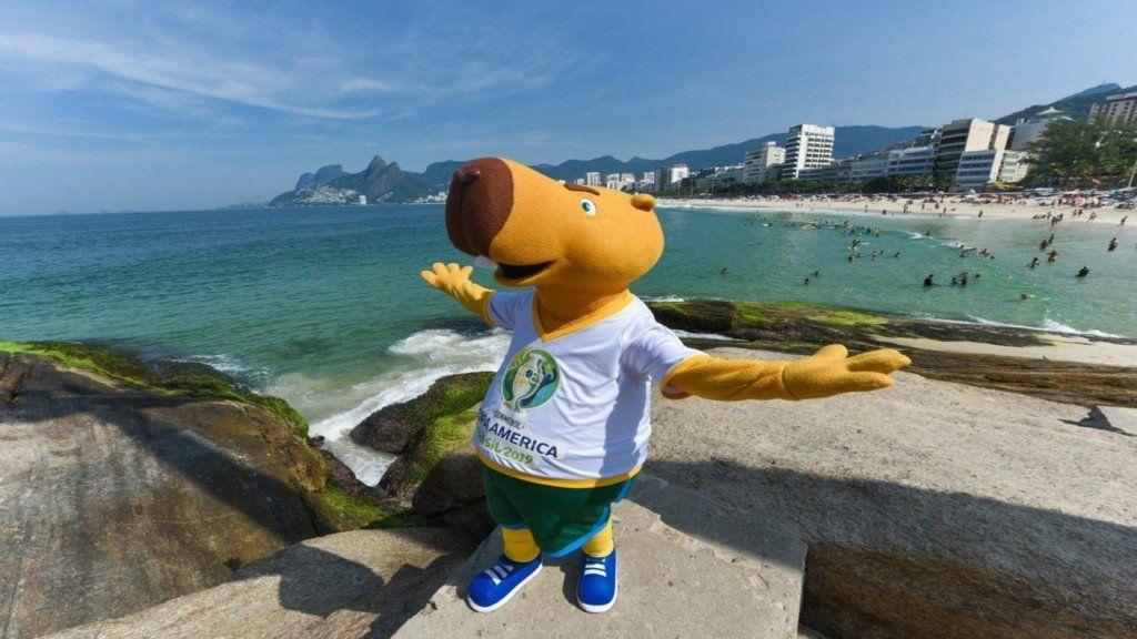 Zizito: la mascota de la Copa América