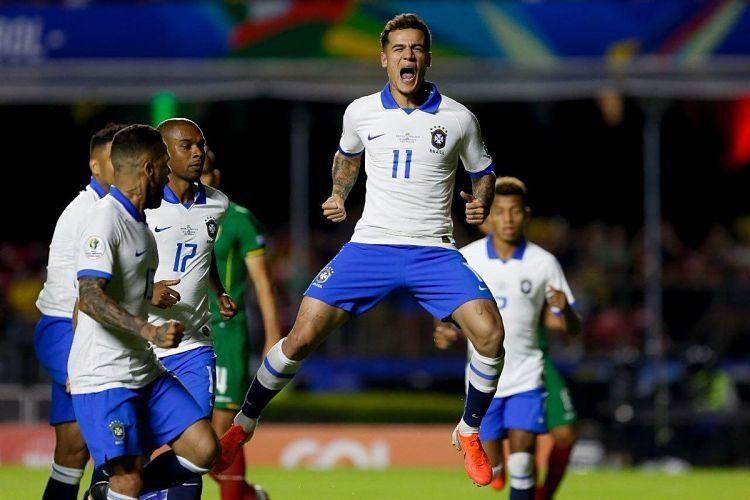 Copa América: Brasil goleó a Bolivia por 3 a 0