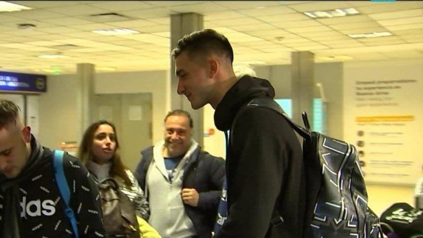 Juan Musso viajó a Brasil para sumarse al plantel de Scaloni
