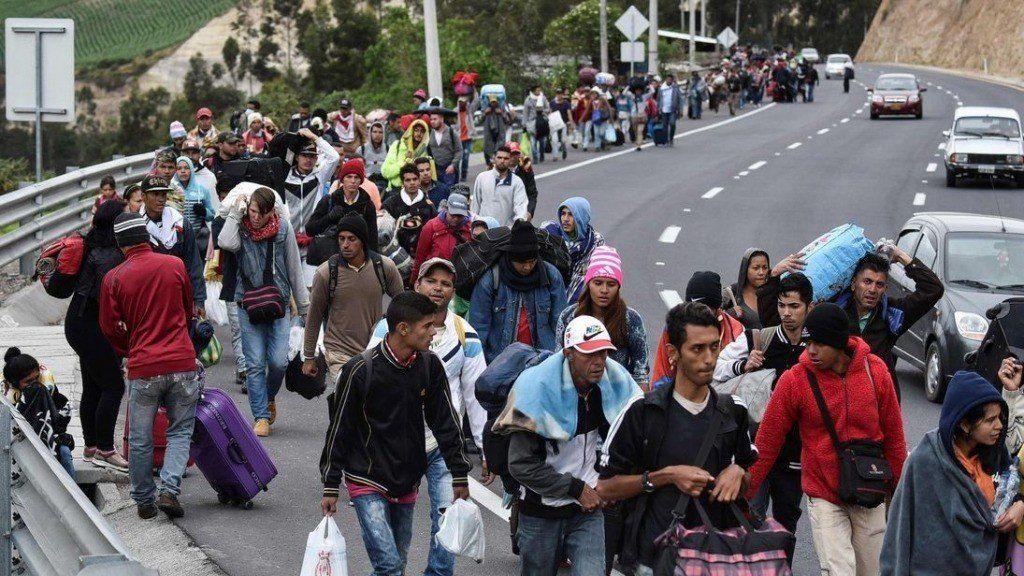 Récord de ingresos a Perú desde Venezuela, un día antes de que rija la exigencia de visa