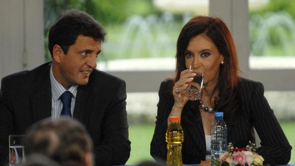 Cristina Kirchner dijo que le gustó mucho el video que lanzó Massa