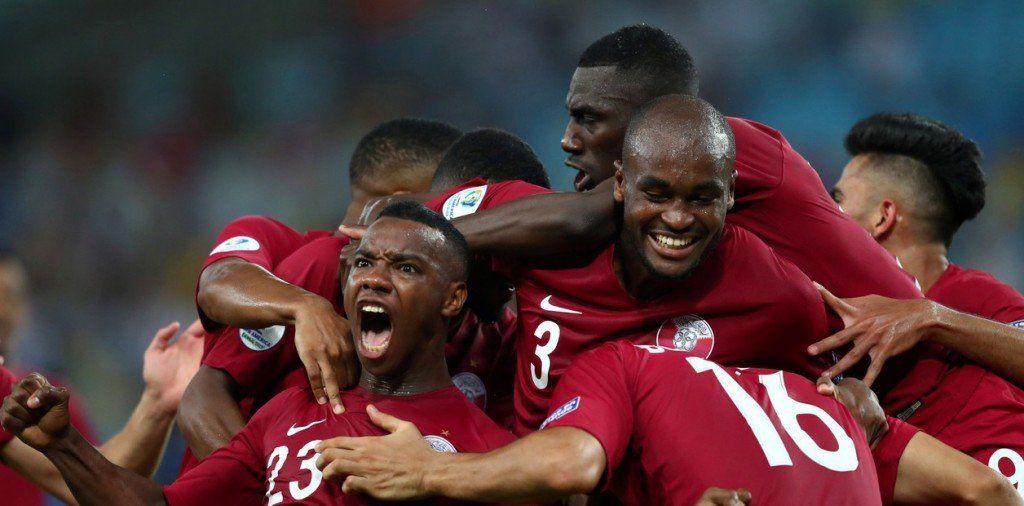 Qatar dio la sorpresa en la copa