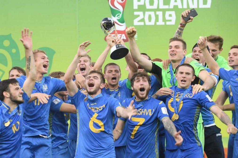 Ucrania le ganó a Corea del Sur y se coronó campeón del Mundial Sub 20