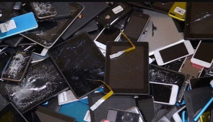 La basura electrónica agudiza el problema ambiental del país