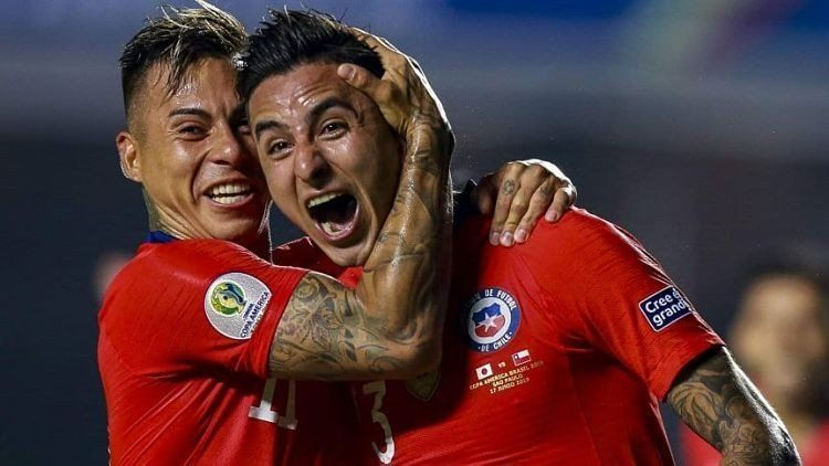 Copa América: Chile goleó 4 a 0 a Japón