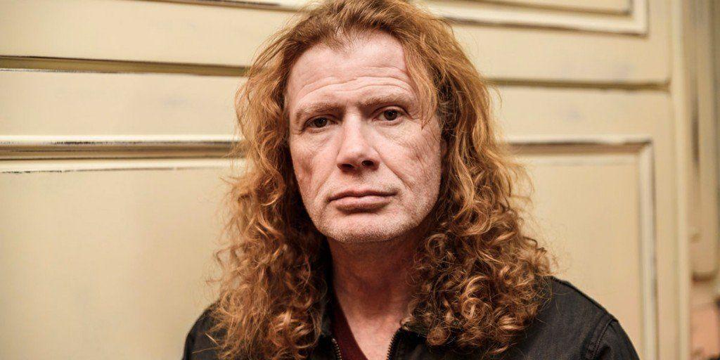 El cantante de Megadeth, Dave Mustaine, tiene cáncer de garganta