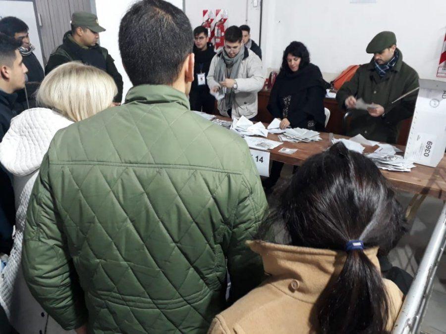 La Junta Electoral contó 634 mesas y continúa el escrutinio definitivo de Capital
