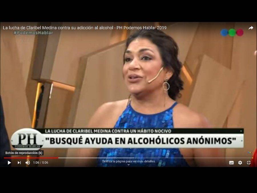 Claribel Medina habló de su adicción al alcohol: Voy a las reuniones de Alcohólicos Anónimos