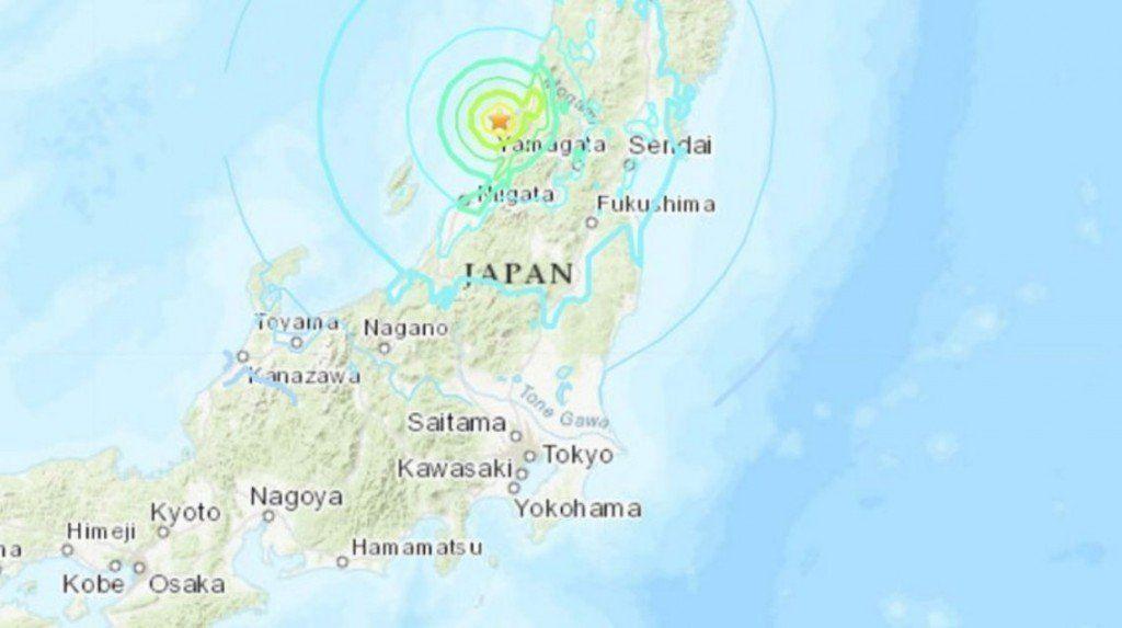 Terremoto de 6,8 grados en el norte de Japón y alerta por tsunami