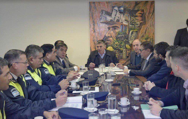 Reunión de la Comisión Especial de Emergencia en Seguridad
